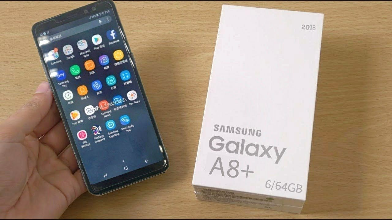 Flat Rs. 4000 off:- Samsung Galaxy A8+ (Black, 6GB RAM + 64GB Memory)