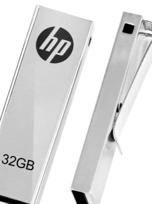 HP V-210 W 32 GB Pen Drive (Grey) at 48% Off