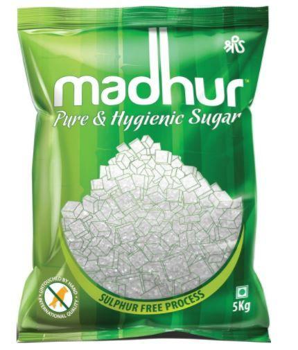 Madhur Pure Sugar, 5kg Bag at Rs. 199 [ 33% Off ]