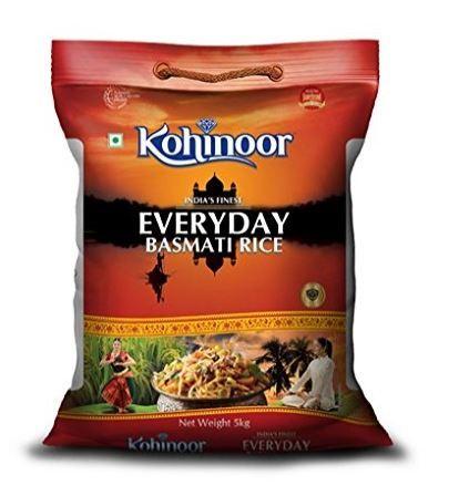 Kohinoor Everyday Basmati Rice (Broken), 5kg at Rs. 280 [ 42% Off ]