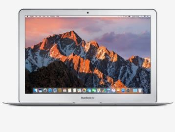 Lowest Online - Apple MacBook Air (i5/8GB/128GB/33.78cm(13.3)/OS X)