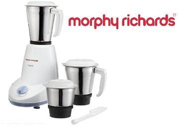 Morphy Richards Superb 500-Watt Mixer Grinder (White)