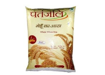 Patanjali Whole Wheat Atta, 10kg