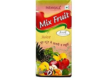 Patanjali Mix Fruit Juice Tetra Pack, 1L
