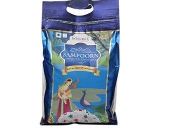 Patanjali Sampoorn Traditional Basmati Rice, 5kg