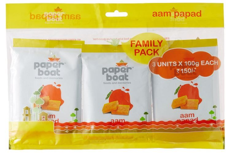 Paper Boat Aam Papad, 100g (Pack of 3) at Just Rs. 135