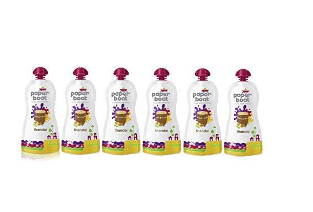 Paper Boat Thandai, 200ml (Pack of 6) at Just Rs. 216