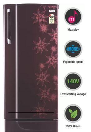 Godrej 185 L Direct Cool Single Door 2 Star Refrigerator at Just Rs. 11159