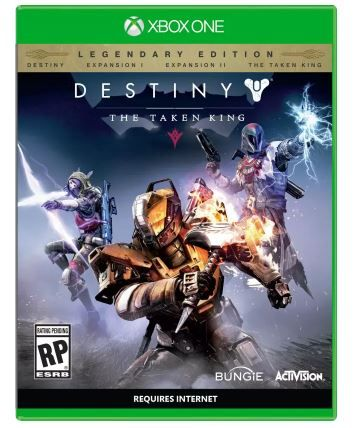Destiny : The Taken King (Legendary Edition) at Just Rs. 1000