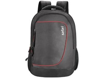 Safari Polyester 27 Ltrs Black Laptop Backpack