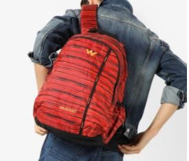 WildCraft Backpacks at Extra Rs. 1000 Off On Rs.1790