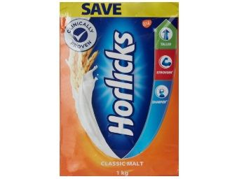 Rs. 50 Cashback:- Horlicks Health & Nutrition drink - 1 kg Refill pack (Classic Malt) at Rs. 322