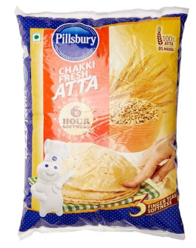 Pillsbury Chakki Fresh Atta, 5kg at Just Rs. 92
