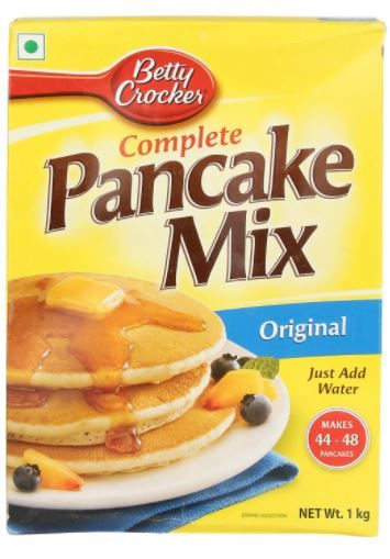 Betty Crocker Complete Pancake Mix, 1KG at Just Rs. 140