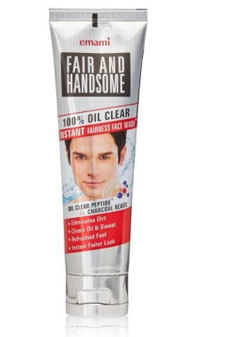 Emami Fair and Handsome 100% Oil Clear Face Wash, 100g at Just Rs. 56