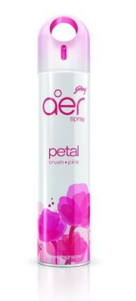 Godrej aer Home Air Freshener Spray - 300 ml (Petal Crush Pink) at Rs. 70