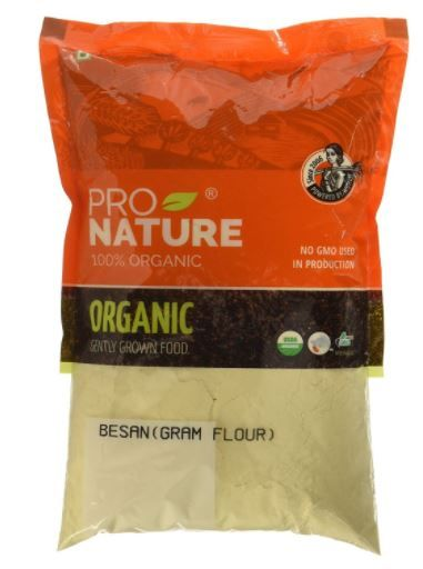 Pro Nature 100% Organic Besan, 500g at Just Rs. 38