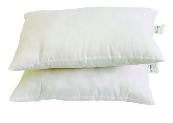 Recron Fiber Dream Pillow - 40 x 61 cm, White, 2 Piece at Just Rs. 375
