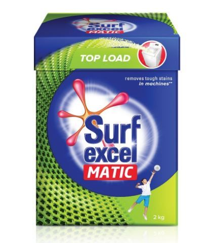 Surf Excel Matic Top Load Detergent Powder, 2 kg at Just Rs. 325