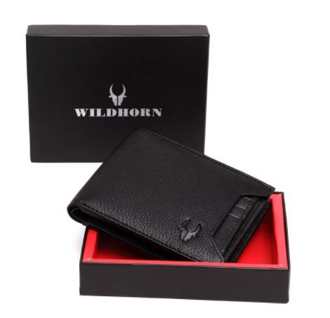 Wildhorn Genuine Leather Wallet at Just Rs. 440