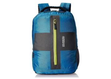 American Tourister Polyester 32 Ltrs Teal Laptop Backpack