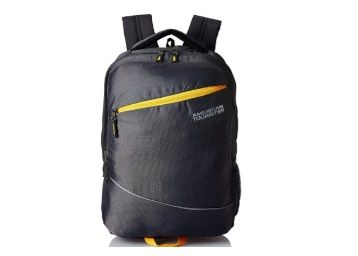 American Tourister 32 Ltrs Grey Laptop Backpack