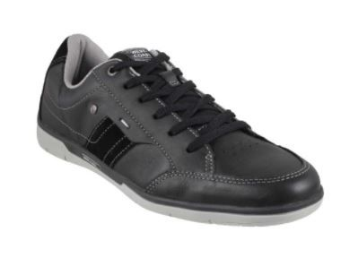 WEST COAST BLACK Casual Derby Shoes at Flat 50% Off