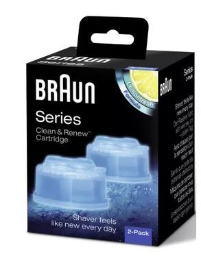 Braun Clean & Renew Refill Cartidges (Pack of 2) at Just Rs. 265