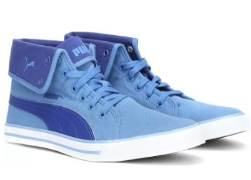 Puma Carme Mid IDP Sneakers For Men (Blue) at Flat 70% OFF
