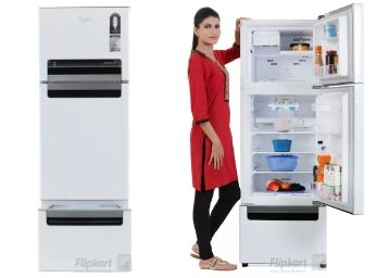 Whirlpool 240 L Frost Free Triple Door Refrigerator at Flat Rs. 5000 Off + Extra Rs. 2000 Off