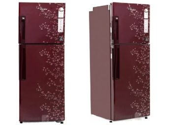 Whirlpool 245 L Frost Free Double Door 2 Star Refrigerator (Wine Gloria) at Rs. 2535 Off + Extra Rs. 2000 Off