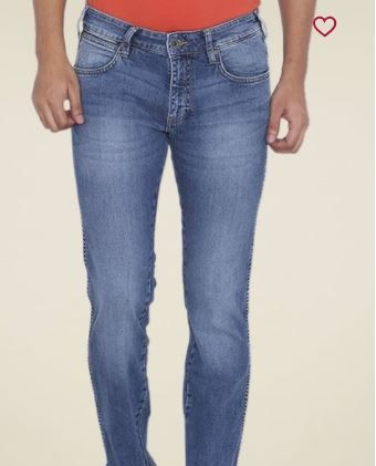 Wrangler Blue Slim Fit Low Rise Jeans at Just Rs. 1158