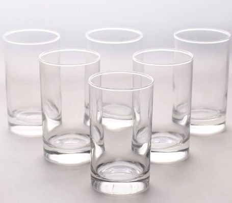 Arcoroc Elegance Glass 250 ML Tumbler - Set of 6 by Luminarc at Rs. 181 with Shipping