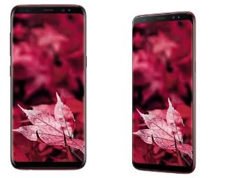 Samsung Galaxy S8 (Burgundy, 64 GB) (4 GB RAM) at Rs. 36490 [HDFC Cards]