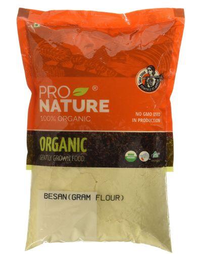 Flat 50% off:- Pro Nature 100% Organic Besan, 500g at Just Rs. 74