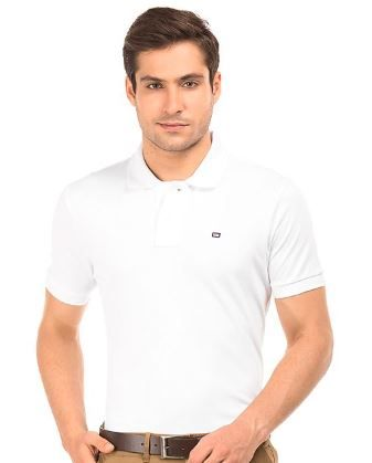 ARROW SPORTS Solid Pique Polo Shirt at Just Rs. 400