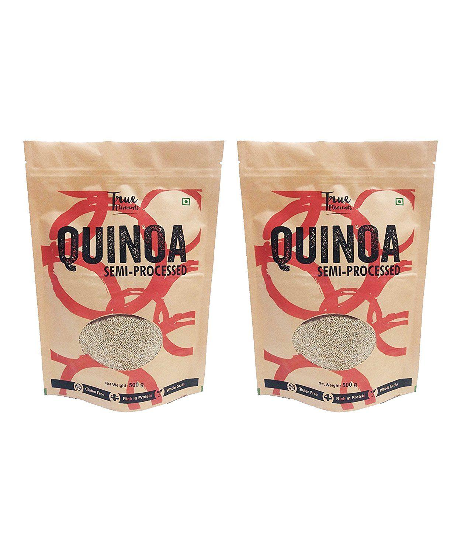 Flat 53% off:- True Elements Gluten Free Quinoa, 500g (Pack of 2)