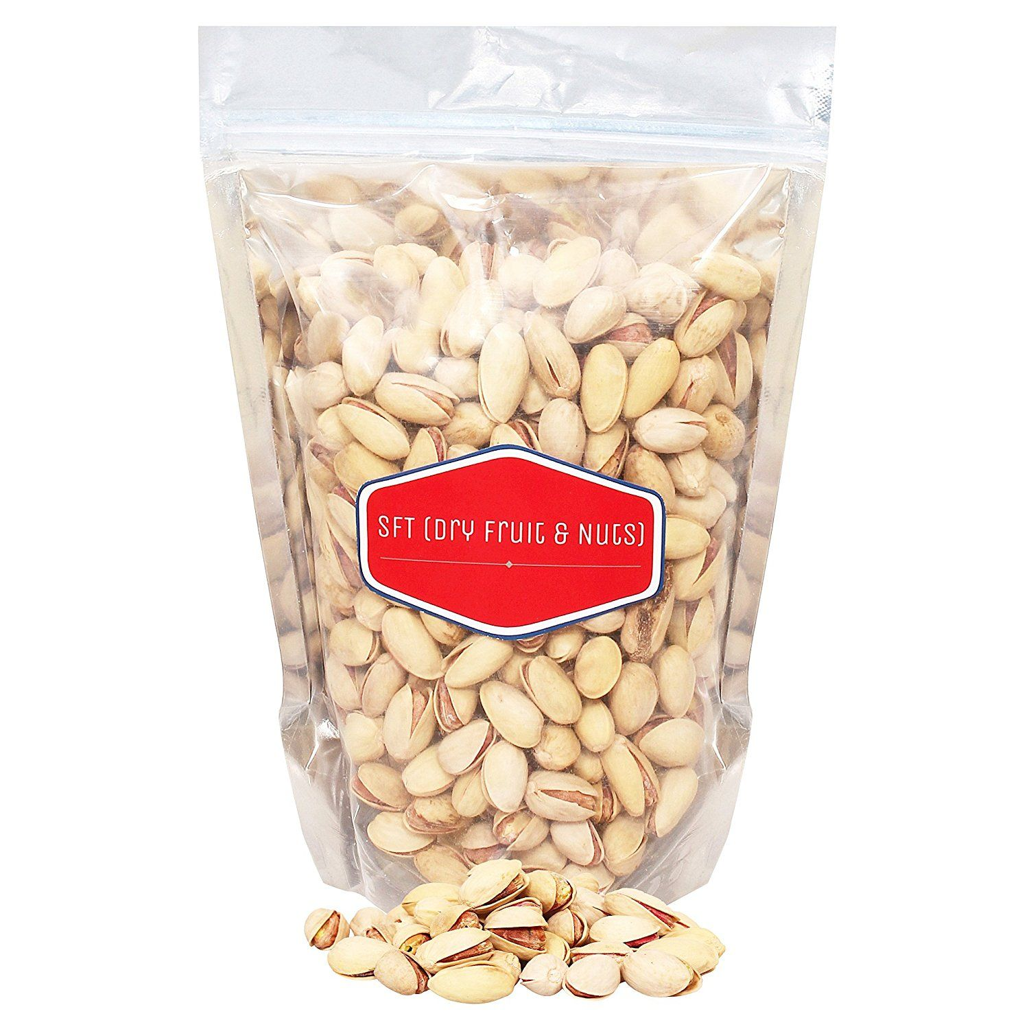 Flat 77% off:- SFT Pistachious Nut Roasted & Salted, American 100% Pure Organic (Pista) 1 Kg
