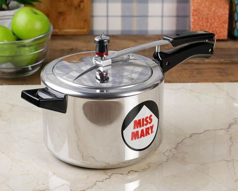 Hawkins Miss Mary Aluminium 5 L Pressure Cooker at Just Rs. 817 [Including Shipping]