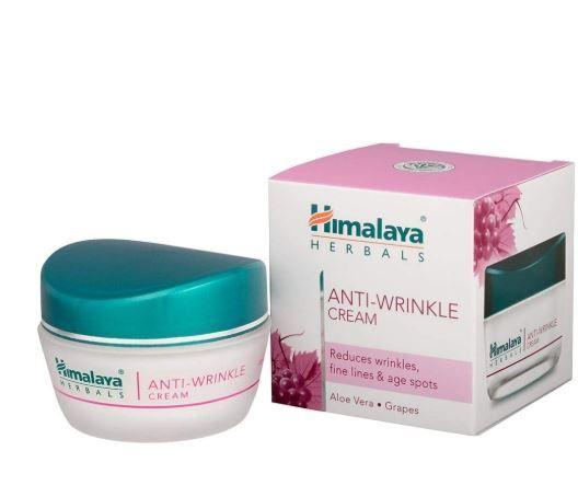 Himalaya Herbals Anti Wrinkle Cream, 50g at Flat 40% Off