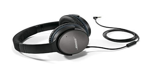 Flat 50% Off On Bose QuietComfort 25 Acoustic Noise Cancelling headphones - Apple devices, Black