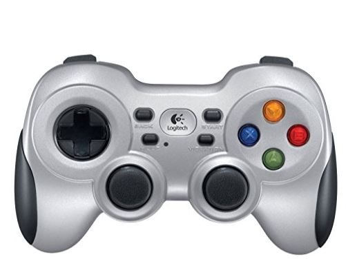 Logitech F710 Wireless Gamepad (Silver and Black) at Flat 47% Off [75% Claimed]