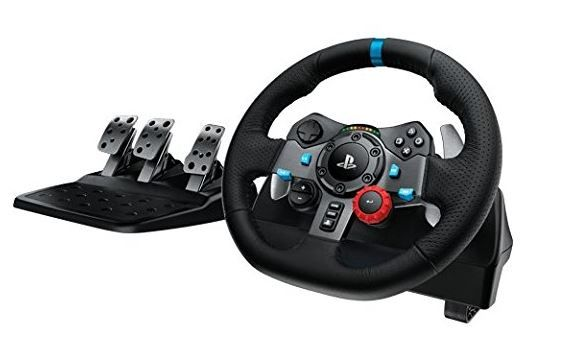 Logitech G29 Driving Force Racing Wheel at Flat 51% Off [30% Claimed]