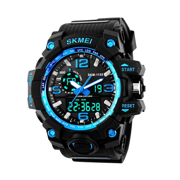 Skmei Analog-Digital Black Dial Men