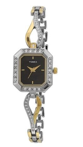 Timex Empera Analog Black Dial Women