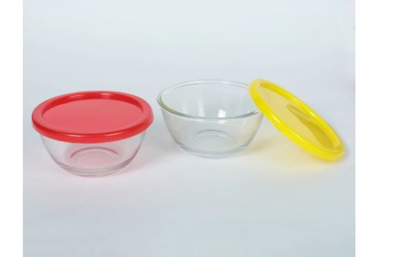 ROXX Pro Alaska Set of 2 Bowls with Lid, 400 ML (Each) at Just Rs. 86