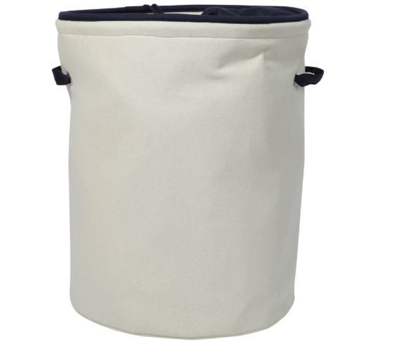 My Gift Booth Canvas 20 L Laundry Hamper at Just Rs. 249