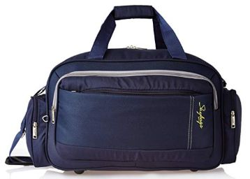 Skybags Cardiff Polyester 55 cms Blue Travel Duffle at Rs.805