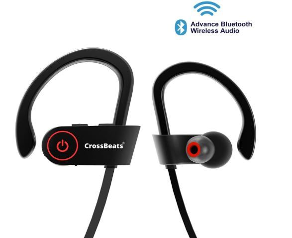Flat 70% Off On CrossBeats Raga Wireless Bluetooth Earphones with Microphone
