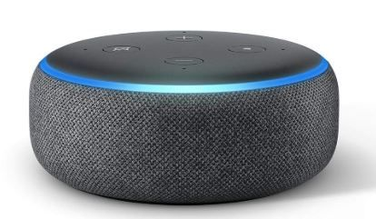 New Launch - All-new Echo Dot (3rd Gen) - Smart speaker with Alexa (Black) at Flat Rs. 1500